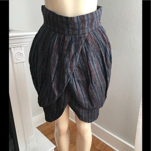 Opening Ceremony Stripe Tulip Skirt Small